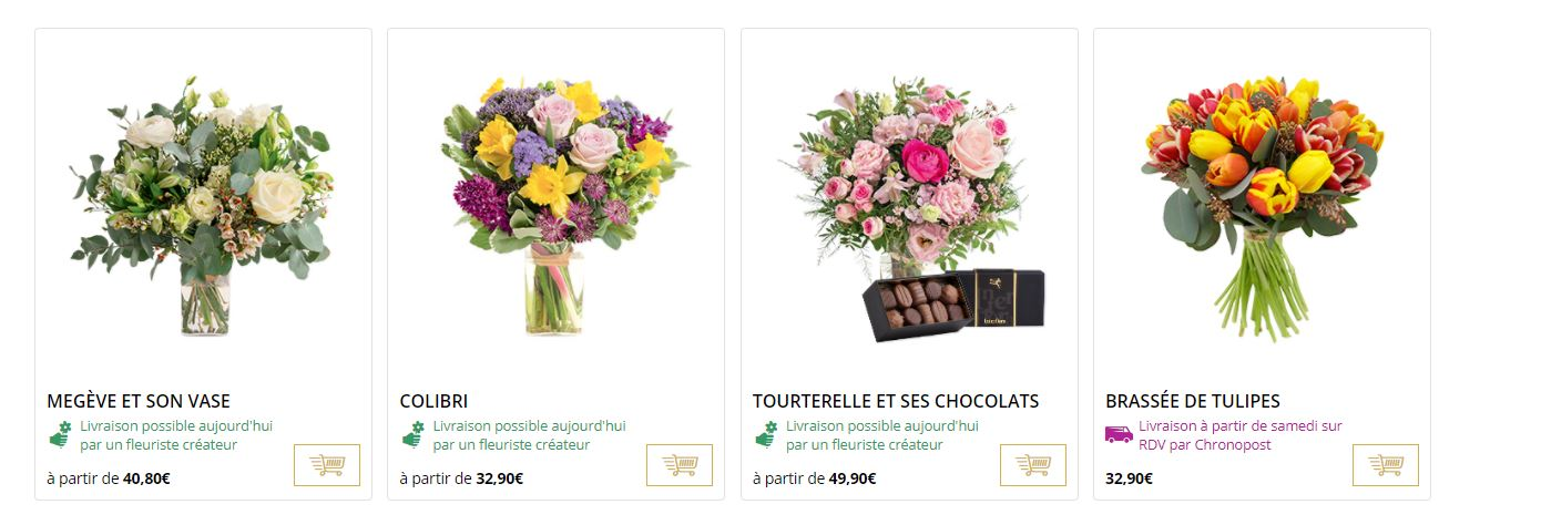 Vous trouverez des bouquets et des compositions pour tous les moments de  l année et toutes les occasions. Pour l été, découvrez dès maintenant une  sélection ... 7a2c9e42fbbf