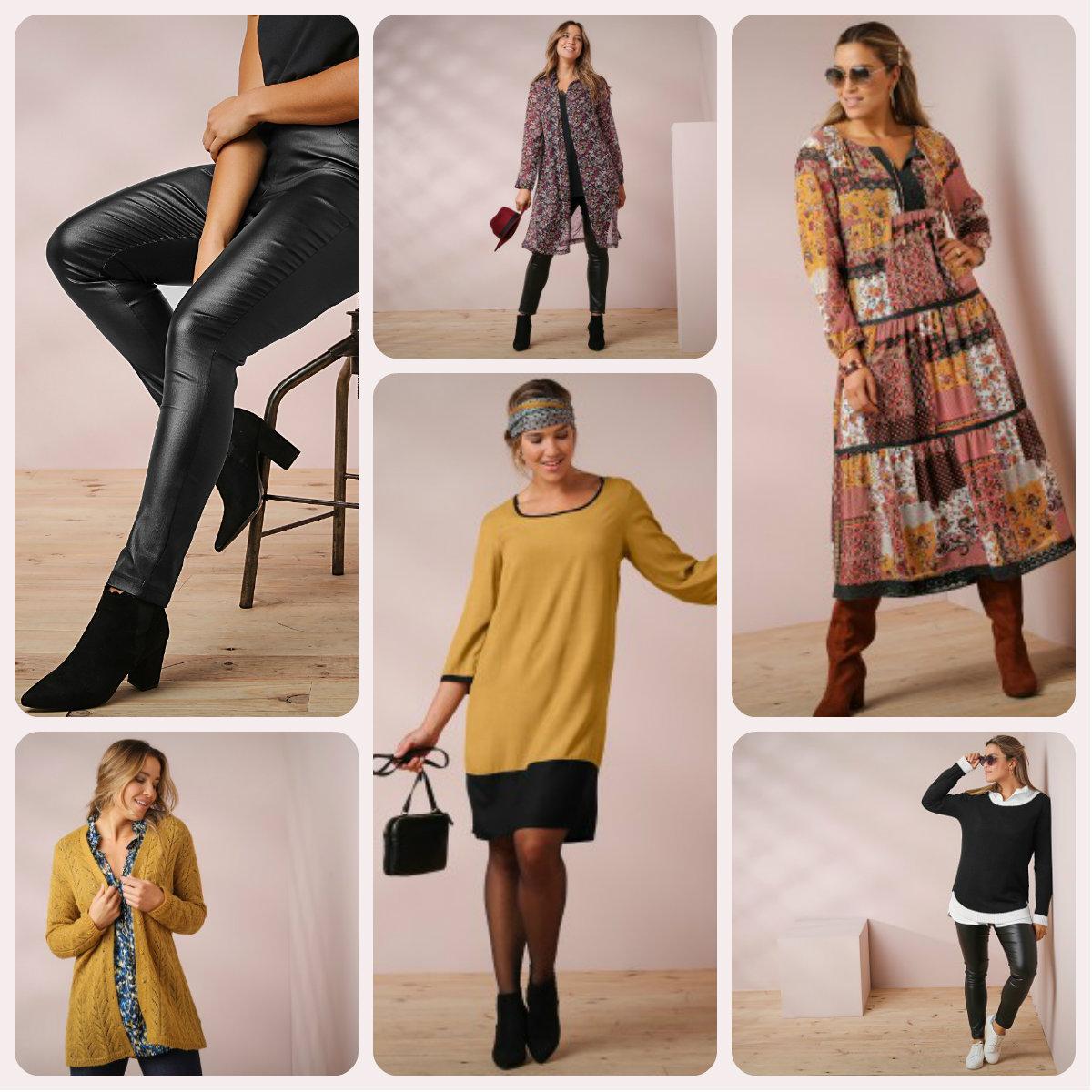 Promotions sur la collection Isabella chez Blancheporte, automne-hiver 2019-2020