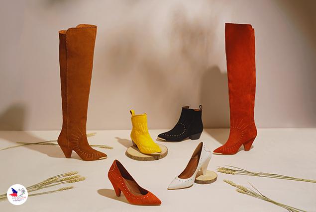 Collection de chaussures Sarenza par Daphné Burki au profit du Secours Populaire pour un Noël 2019 solidaire